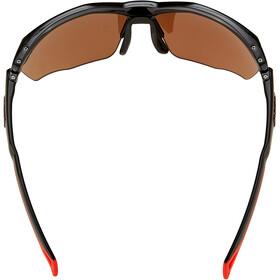 Alpina Twist Five HR HM+ Glasses, czarny/czerwony